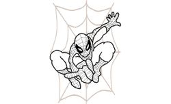 Spiderman web 199 X 288